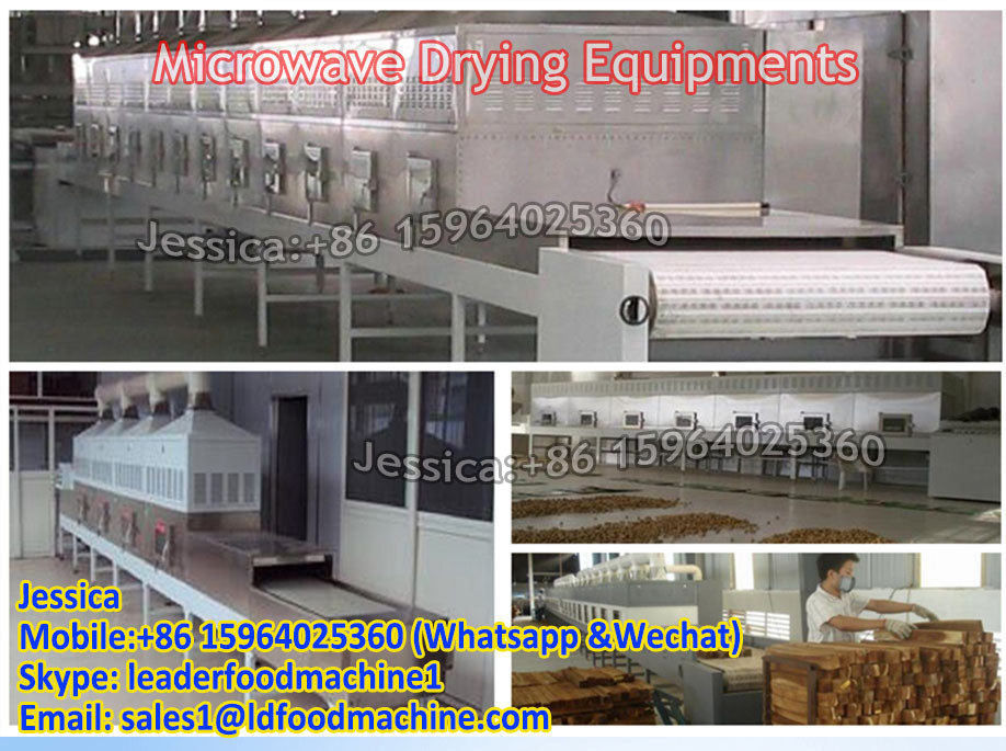 Microwave Red Bamboo Beans drying and sterilization equipment
