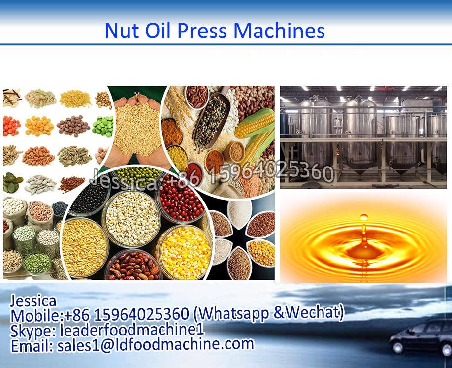 Cold oil press corn oil expeller machine