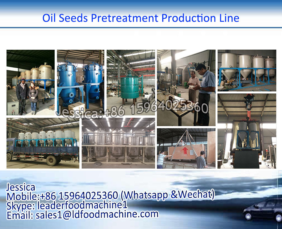 10-1000PTD crude cotton seed, sunflower seed oil refine machine, oil refinery machine