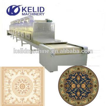 Hot sale Industrial microwave carpet oven