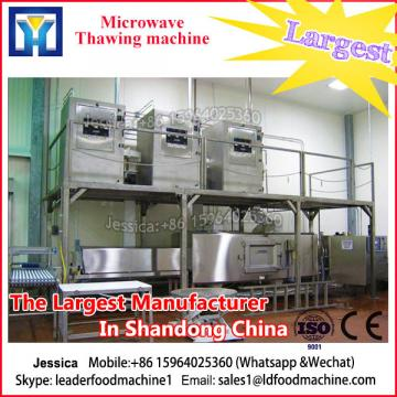 High efficient automatic industrial microwave Indian black tea drying machine
