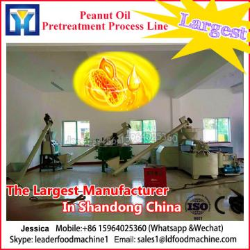 10-200 TD edible crude vegetable oil refinery plant with high efficiency
