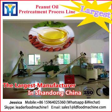 Equipment for the production of refined soybean oil