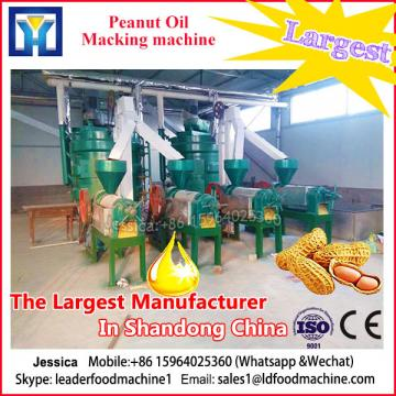 24 hours operation crude peanut oil processing machine