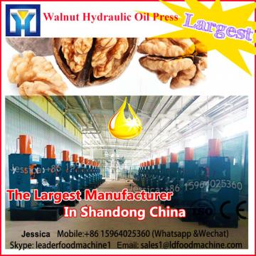Hazelnut Oil LDe 6YL-100 CE certified electric stainless steel oil milling machine in price