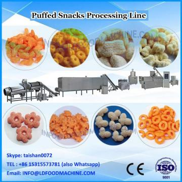 Rod shaped crisp snack puffing food making machines 100-250 kg/h