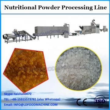 Nutritional baby rice corn powder extruded snacks food making machines