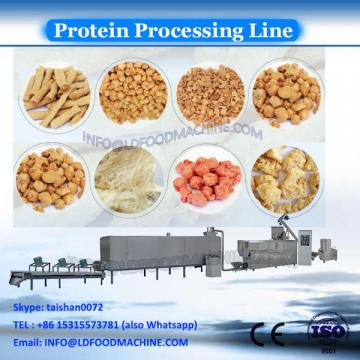 Automatic TVP Textured Soy Protein Nuggets Making Machine Processing Line