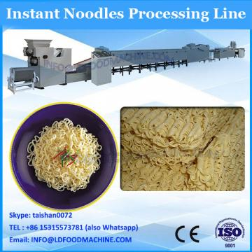 instant noodle production line with square or round shape noodles