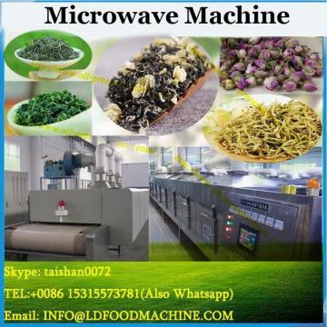 Belt type cocoa bean powder microwave drying sterilizer machine