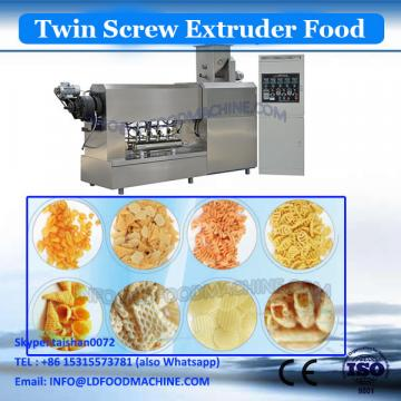 Hot sale crab flavoured cheese curls food extruded machine/puffed food making line