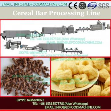 TK-A600 RICE CHOCOLATE BARS PRODUCTION LINE WITH CHOCOLATE COATING OUTSIDE