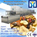 60KW moringa leaves high efficency microwave dryer for superfine powder grinding