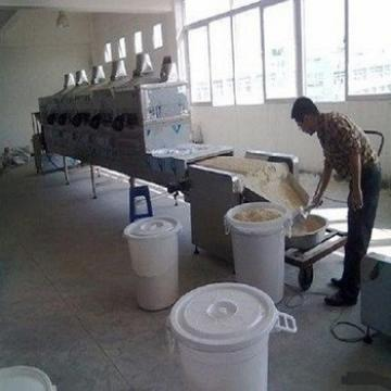 new tech microwave equipment for cashew nuts roasting