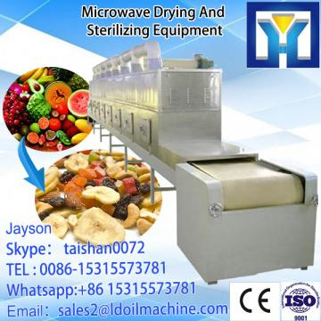 microwave tunnel continue type cocoa bean roasting machine