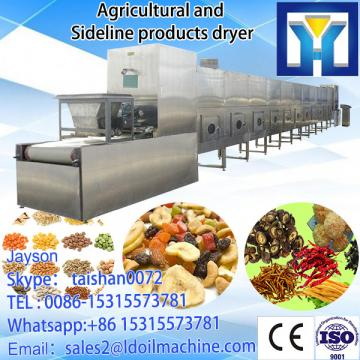 best seller and  industrial tunnel microwave roasting /sterilization machine / oven - - made in china