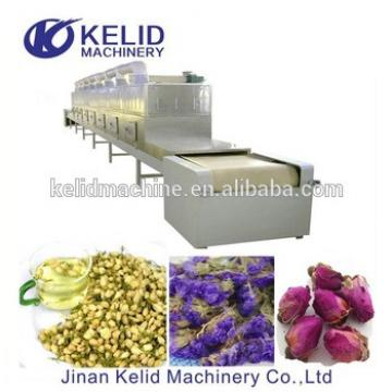 High efficient automatic microwave vacuum drying machine