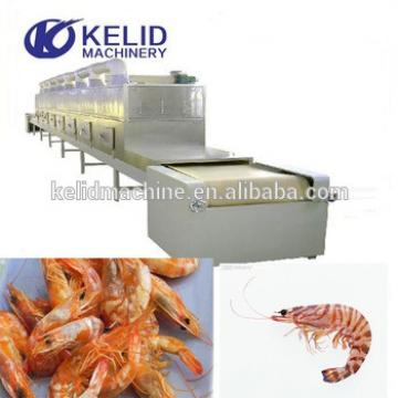 Hot sale Industrial seafood tunnel microwave oven