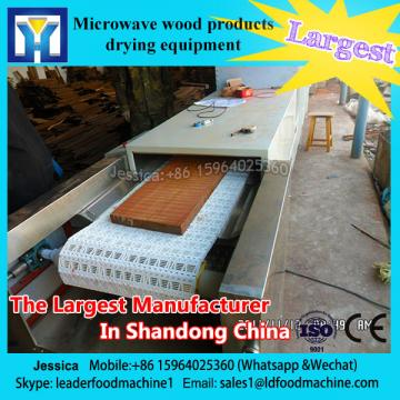 CE certification made in China tunnel type microwave drying machine used for green tea