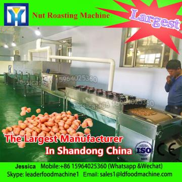 continuous production microwave string bean roasting / sterilization equipment