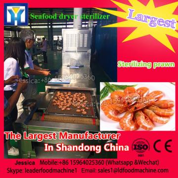 Conveyor beLD microwave drying and cooking machine for prawns