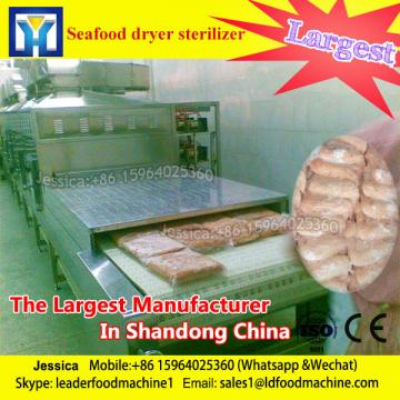 microwave drying and sterilizing machine for shrimp