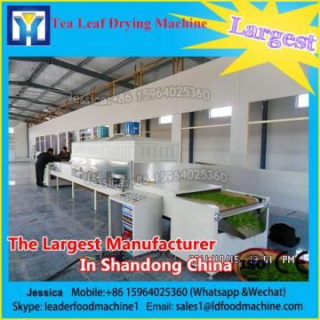 Stainless steel microwave buckwheat/ginger tea drying and sterilizing equipment with CE certification