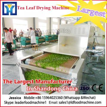 Industrial microwave dryer for drying herbs/tea/leaves/stainless steel