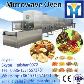 Industrial stainless steel Calocybe gambosa continuous microwave drying machine