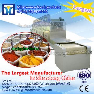 Microwave puer tea dry sterilization equipment of international standard