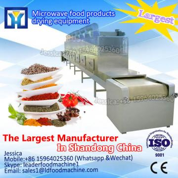 Industrial tunnel microwave wood dryer
