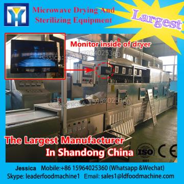 304#stainless steel tunnel type microwave dryer used for green /black tea ,etc
