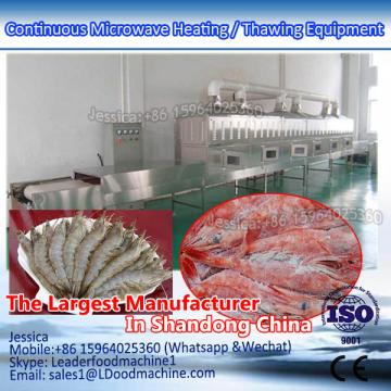 White Shrimp Microwave Heating / Thawing Equipment