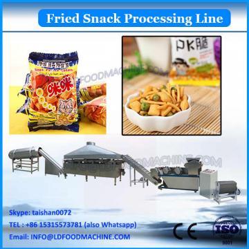 80-500kg/h Automatic Fried Extrusion Food 3D Pellet Snacks Process Line