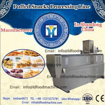 Wheat flour puffed snack processing machine