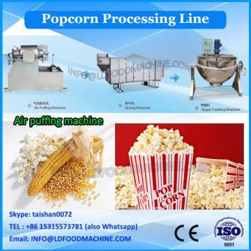 Dried Glutinous Karamel Popcorn Making Machines Factory Supplier 100kg/h