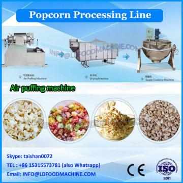 Hot air caramel/chocolate popcorn manufacturing plant from Jinan DG company