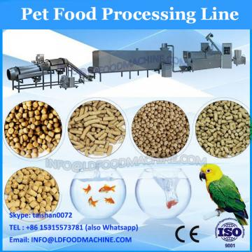 Steam extruded pet food processing machine