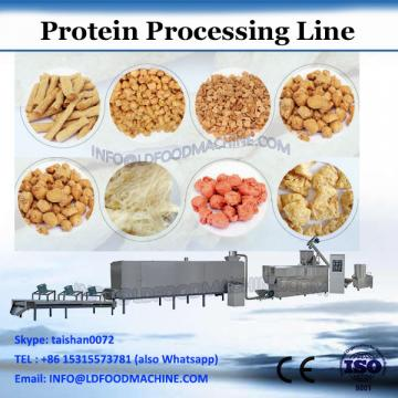 Textured vegetarian soya protein nuggets extruder machine process line