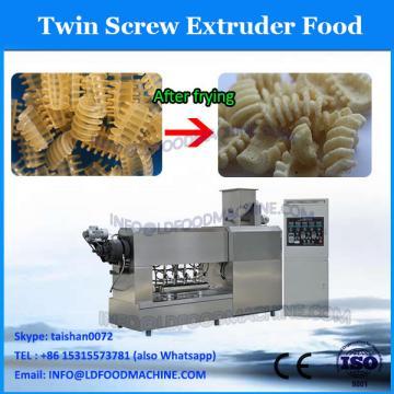 Snacks/crispy cake/potato sticks/sheeted snacks food doule screw extruder