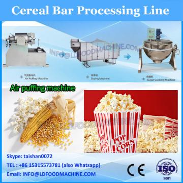 TK-BAF-600 RICE CHOCOLATE BARS PRODUCTION LINE WITH CHOCOLATE COATING OUTSIDE