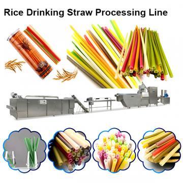Environmental Strow Pasta Rice Straw Making Equipment Machine for Drinking