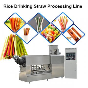 Industrial Biodegradable  Tube Machine Drinking Straw Making And Cutting