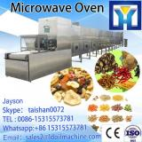 tunnel type microwave sago starch dryer