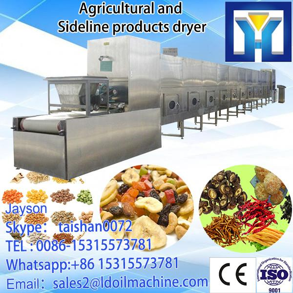 tunnel type cashew nuts microwave roasting/baking/dryer machine #1 image
