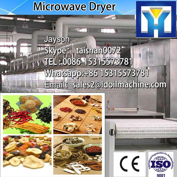 30kw 100-1000kg/h vanilla /stevia/olive leaves high temperature roasting drying and sterilizing equipment with CE certificate #1 image
