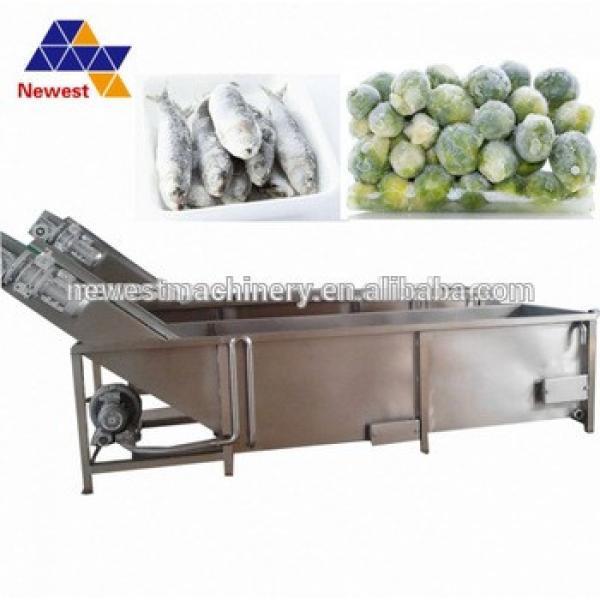 Good price frozen beef mutton chicken/unfreezer and continuous cooker/frozen meat unfreezer #5 image