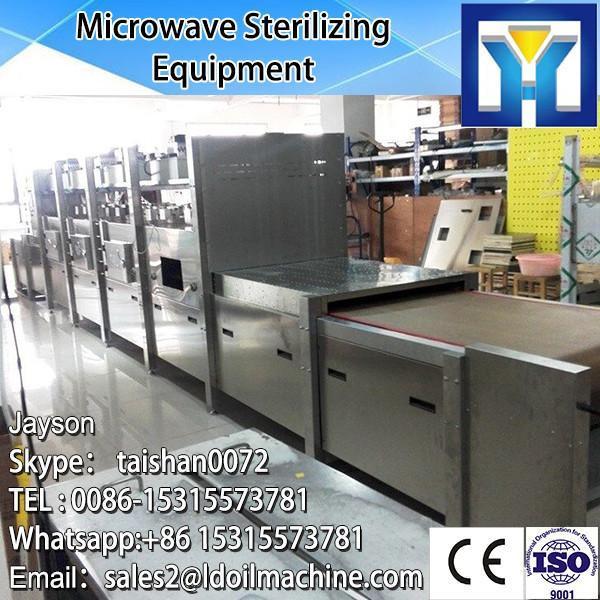 60KW microwave herbs powder sterilizing machine #1 image