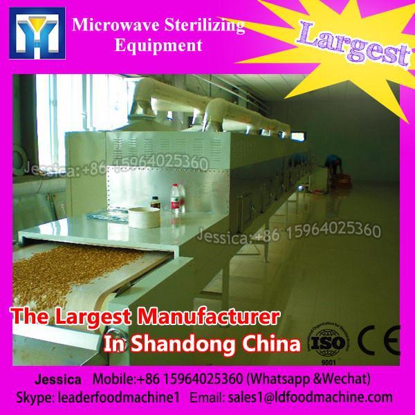 30 KW microwave hemp seeds sterilize inactivation treat equipment #1 image