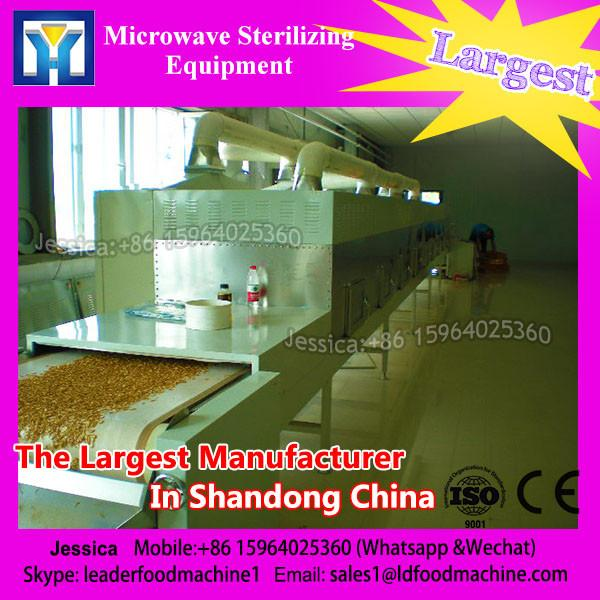 China new technology 60KW microwave poppy seeds inactive and killing treatment equipment #1 image